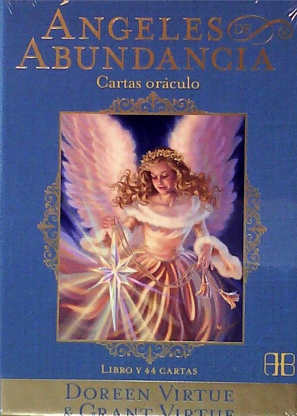 TAROT  ANGELES DE ABUNDANCIA Autor: VIRTUE, DOREEN/ VIRTUE, GRANT