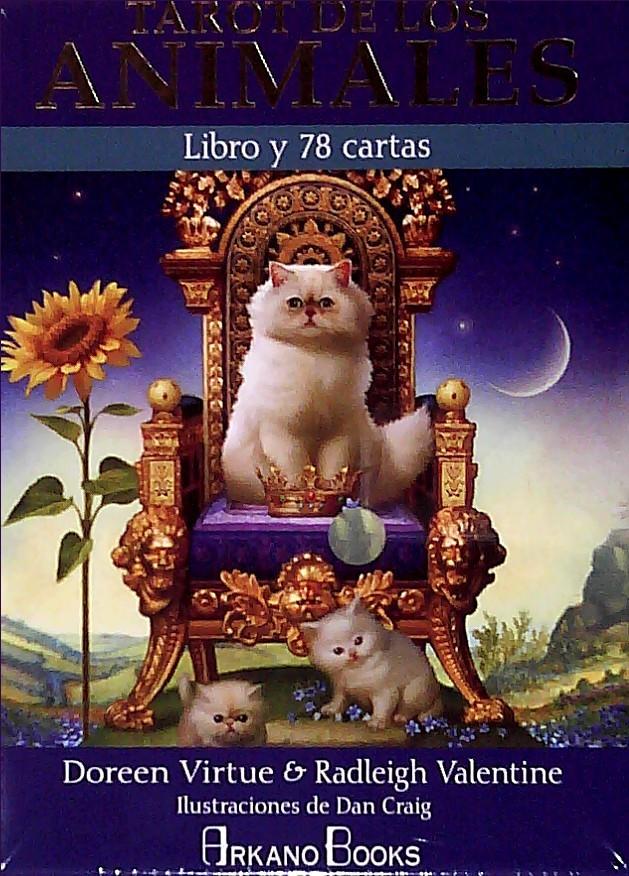 TAROT DE LOS ANIMALES Autor:  DOREEN VIRTUE Y OTRO